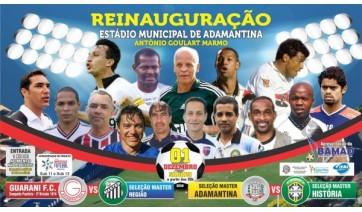Reinauguração do Estádio Municipal Antônio Goulart Marmo acontece sábado