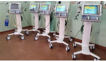 Com investimentos de R$ 750 mil, UniFAI adquire dez ventiladores mecânicos para a UTI da Santa Casa