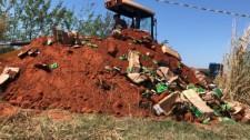 Denúncia leva Polícia a descarte ilegal de medicamento em Salmourão