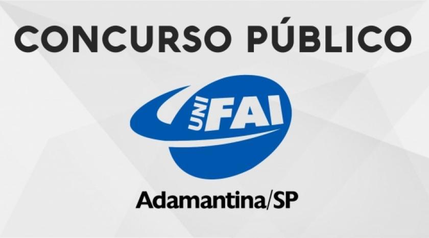 UniFAI abre concurso com 18 vagas e salários de até R$ 4.195,27