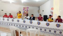 Governadora do Distrito LC-8, CaL Rosemary Pimental de Souza Takano marcou presença no evento (Assessoria de Imprensa).