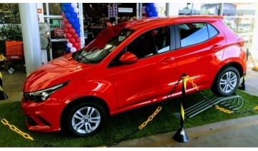 Campanha promocional de aniversário da Rede Sete Adamantina vai sortear um automóvel Fiat Argo e duas motos Honda CG 160 (Foto: Siga Mais).