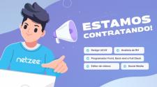 Netzee - Agência de E-commerce abre mais de 10 oportunidades de emprego