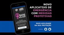 Aplicativo vai agilizar socorro a mulheres sob medida protetiva em SP