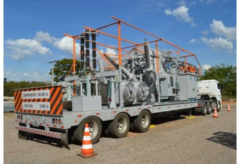 O equipamento dará maior agilidade para a empresa atuar em situações de contingência e durante as manutenções programadas. (Foto: Da Assessoria)