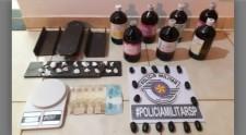Após abordar traficante em Adamantina, PM descobre refinaria de cocaína em Flórida Paulista