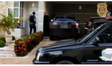Polícia cumpre mandados de prisões, buscas e sequestros de veículos (Divulgação/Polícia Civil).
