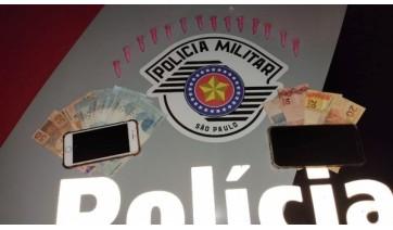 Dupla é presa pela PM por tráfico e associação a o tráfico em Adamantina