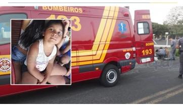 Menina gêmea morre após ser atropelada por motorista embriagado