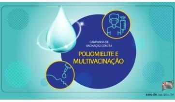 Estado prorroga até 30 de novembro campanhas de poliomielite e multivacinação