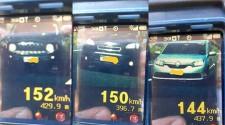 Motoristas são flagrados em mais de 150 km/h em rodovias da região na Operação República