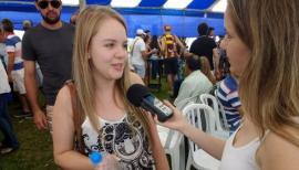 Nara Azevedo Rezende, de Machado (MG), recebeu indicação da UniFAI por uma amiga (Foto: Jhonas D. Zago Pires).