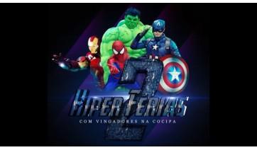"""Cocipa Hipermercado recebe """"Vingadores"""" neste sábado"""
