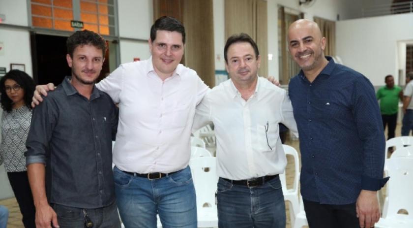 Vereador Acácio Rocha e deputado Cauê Macris anunciam R$ 250 mil para Lar dos Velhos