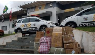PM Rodoviária de Adamantina prende homem e apreende mercadorias sem nota fiscal vindas do Paraguai