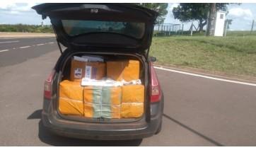 PM Rodoviária apreende carga de 18 mil relógios sem documentação fiscal