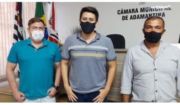 Deputada Renata Abreu e vereadores do Podemos de Adamantina anunciam mais R$ 100 mil para a saúde