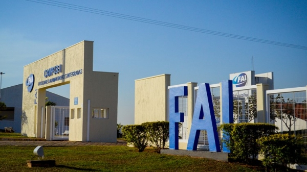 Portaria do campus II (Arquivo/UniFAI).