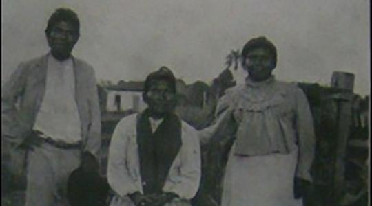 Índios Coroados. Fonte: Comissão Geográfica e Geológica do Estado de São Paulo - Exploração do Rio do Peixe; 1913. p. 33.