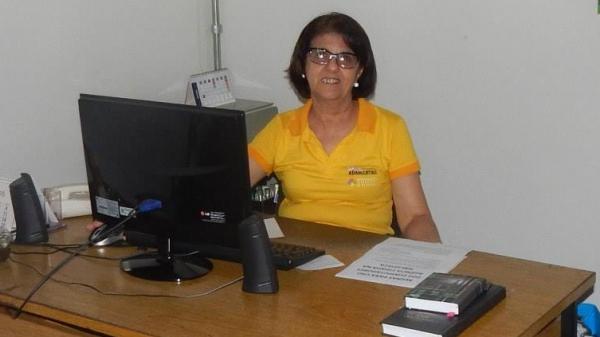 Bibliotecária Jurema Citeli (Fotos: Acervo Pessoal).