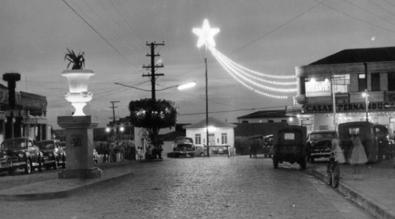 (Fotos históricas de Lucélia. Reprodução: Site Nossa Lucélia)