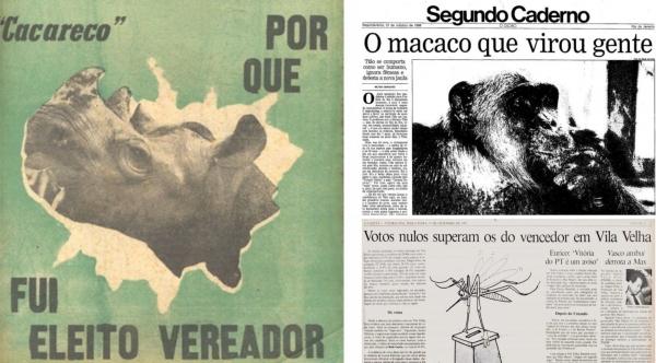 O rinoceronte, o macaco e o mosquito - o voto de protesto