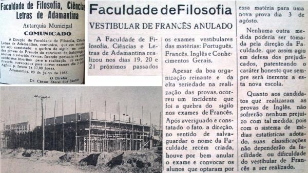Memórias da FAFIA (I): primeiro vestibular anulado