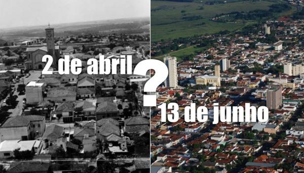 Dois de abril ou treze de junho? Quando se comemora o aniversário de Adamantina?