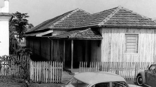 4º Grupo Escolar, hoje a Escola Durvalino Grion (Imagem: Arquivo Histórico Municipal).