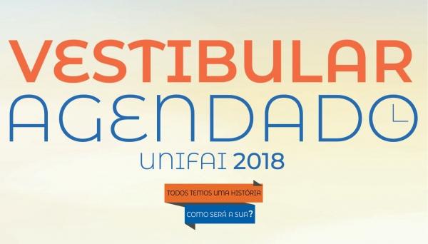 Continuam abertas inscrições para os Vestibulares Agendados de Inverno UniFAI 2018