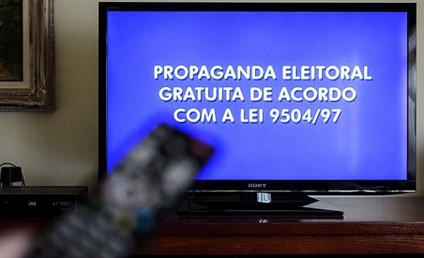 Propaganda eleitoral no rádio e na TV começa nesta sexta-feira (31) e segue até o dia 4 de outubro, três dias antes de os eleitores comparecerem às urnas (Reprodução/Justiça Eleitoral).