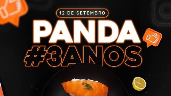 Tio Panda comemora três anos com serviços especiais neste sábado, 12 (Divulgação).