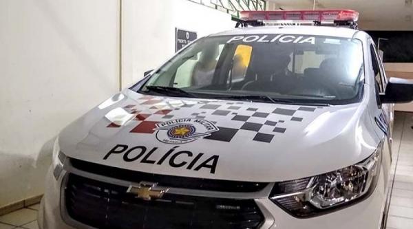 Ocorrência de atropelamento foi inicialmente atendida pela Polícia Militar de Bastos (Foto: Valdecir Luís).