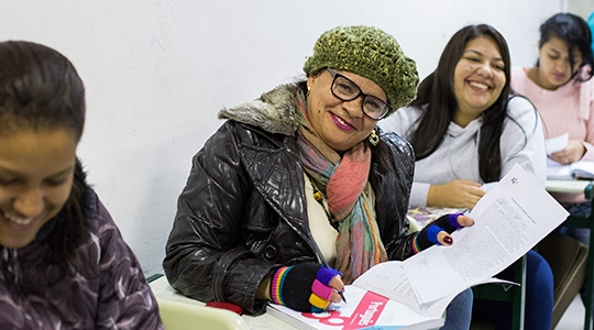 EJA cumpre mais do que o papel de completar o estudo, pois reforça a independência e cidadania de cada indivíduo (Imagem: Secretaria Estadual de Educação).