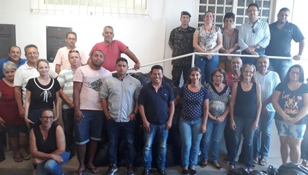 Agasalhos arrecadados já foram repassados à comunidade (Foto: Assessoria de Imprensa).