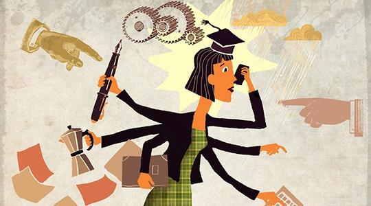 Estagiários tem valor da bolsa de estudos e auxílio-transporte ampliados (Ilustração).