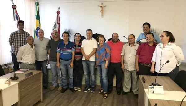 Reunião da Macro PT Alta Paulista, na Câmara Municipal de Adamantina (Foto: Da Assessoria).