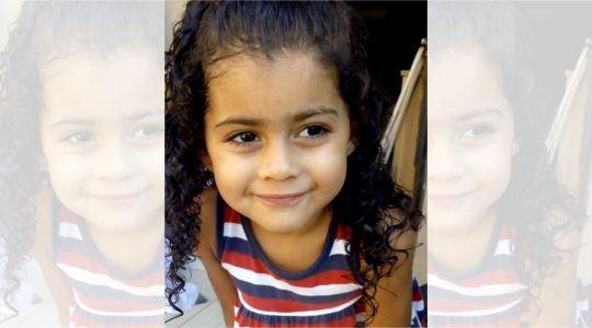 A pequena Ana Sofia da Silva Santos, de 4 anos, morreu após quatro paradas cardíacas. Suspeita-se que criança tenha sido picada por escorpião (Reprodução/Tupã Notícias).