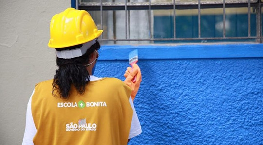 Obras pelo programa Escola +Bonita atingirão duas escolas estaduais em Adamantina: Helen Keller e Fleurides (Divulgação).
