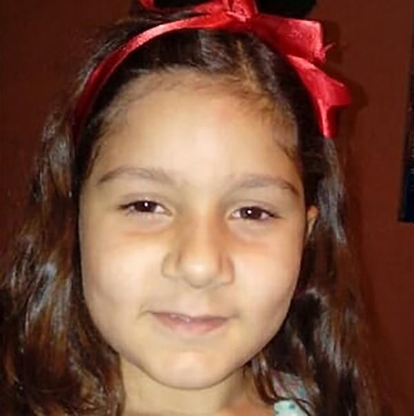 Isabelly, de 7 anos, ficou internada por cerca de 20 dias em Marília, mas não resistiu (Foto: Acervo Pessoal).