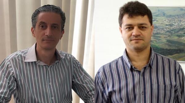 Prof. Dr. Alexandre Teixeira de Souza e Prof. Dr. Wendel Cleber Soares, nomeados reitor e vice-reitor da UniFAI (Reprodução).