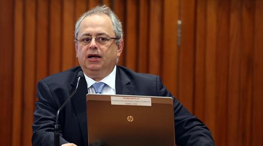 Diretor do Instituto de Ensino e Pesquisa do Hospital Sírio-Libanês (IEP-HSL), Dr. Luiz Fernando Lima Reis, realiza palestra nesta quarta-feira (21) em Adamantina (Foto: Gláucio Dettmar/ Agência CNJ).