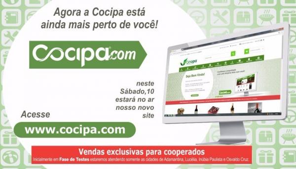 Ambiente virtual do Cocipa.com será dividido em 11 principais segmentos do setor supermercadista (Imagem: Divulgação).