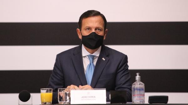 Governador João Doria é alvo de carreata em Adamantina (Foto: GovSP).