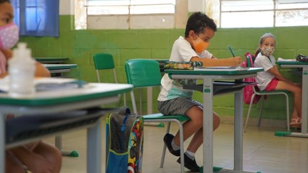 Volta às aulas nas redes estadual e privada está autorizada para ocorrer a partir desta segunda-feira (19), para as escolas de Adamantina (Foto: Seduc/SP).