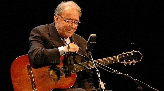 João Gilberto é considerado um dos pais da Bossa Nova (Reprodução).