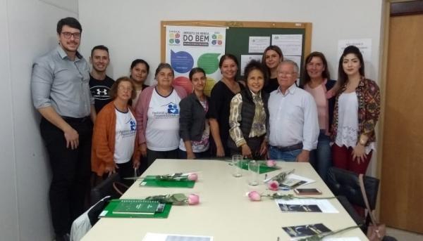 Nova composição do Conselho Municipal do Idoso de Adamantina foi empossada no final de maio (Foto: Assessoria de Imprensa).