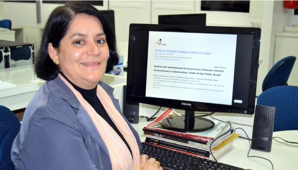 Professora Marisa Cardim é professora concursada no Centro Universitário Adamantina desde 2000  (Foto: Arquivo/UniFAI).