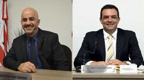 Acácio Rocha e Eder Ruete deixaram o DEM. Acácio foi para o Podemos e Eder para o PV (Arquivo/Siga Mais).