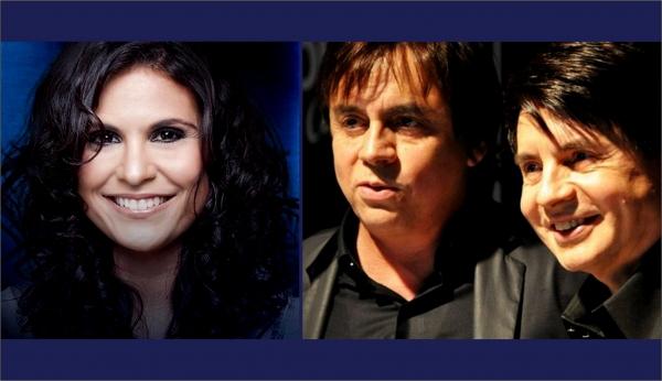 Dracena terá shows de Aline Barros e Chitãozinho e Xororó com entrada franca, dias 24 e 25 de junho, respectivamente (Fotos: Divulgação).